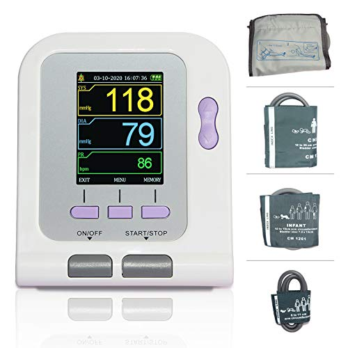 Fully Automatic Upper Arm Blood Pressure Monitor 3 Mode 4 Cuffs Electronic Sphygmomanometer …