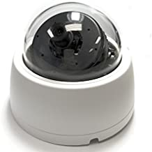 HD-SDI Dome Camera with 4mm Fixed Lens, 2MP, 1080p@30FPS / 720p@60FPS SDI Output, Sony CMOS, 12V DC - Business Grade HD SDI Indoor Security Camera