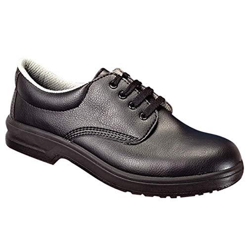 Hygostar S2 - Zapato con puntera de acero, color negro, talla 47