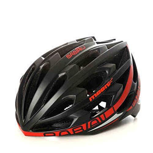JM- Mountain Road Fahrradhelm integriert Bluetooth Musik Helm Reithelm intelligenter Reitinsektennetzhelm (Size : M)