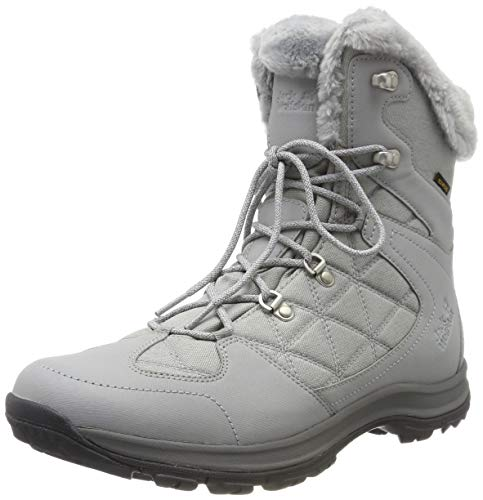 Jack Wolfskin Damen Thunder Bay Texapore Mid W Wasserdicht Trekking-& Wanderstiefel, Grau (Light Grey/ Grey 6125) 40 EU