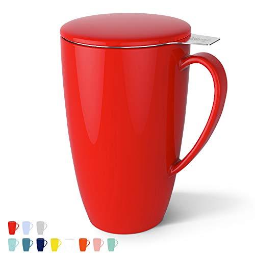 Tasse à thé en Porcelaine avec infuseur
