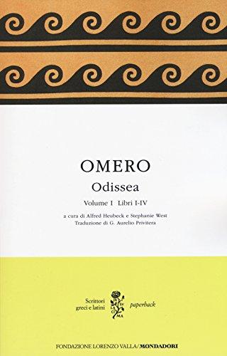 Odissea. Testo greco a fronte: 1