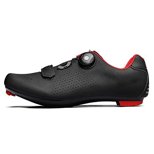 TauLene Men Cycling Shoes Road Bike Shoes Spin Mountain Shoes