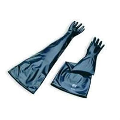 North by Honeywell 8N3032/9Q Neoprene drybox Gloves, 30 mil, Size 9-3/4, 1 Pair