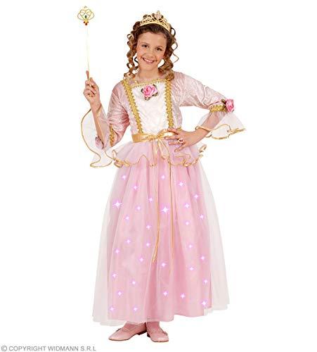 Widmann PINK PRINCESS F/OPTIC 128cm (dress w/light up skirt tiara)