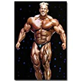 NOVELOVE Wandkunst Bild Jay Cutler Ifbb Bodybuilder Fitness