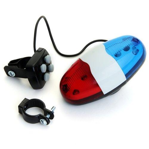 lgking supply XC-325B - Sirena timbre para bicicleta (4 sonidos, 6 ...