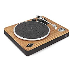 STIR IT UP WIRELESS: Turntable Vinyl Record Player with Built-in Bluetooth pairing. The design of the Stir It Up Wireless features natural bamboo for a warm look and a built-in pre-amp that's compatible with any of our speakers for easy connection BL...