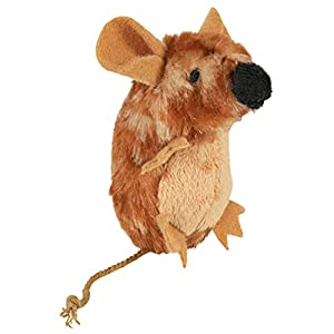 Trixie Ratón con Sonido, Peluche, Catnip, 8 cm, Gato