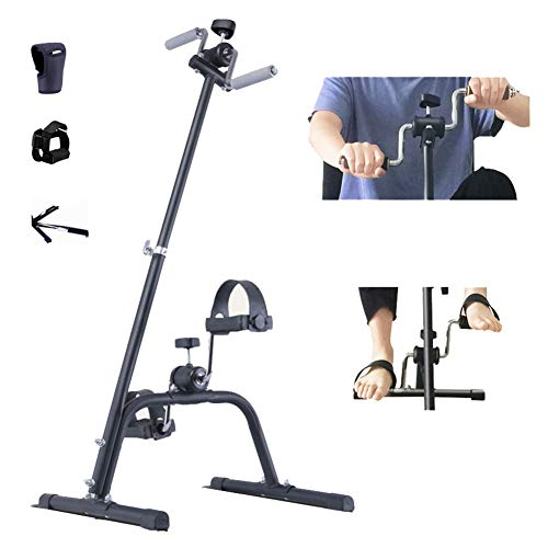 Thole Stepper PortáTil Fitness Cinta Correr Cardio Leg Machine Gimnasio Casa Ejercicio Mini Bicicleta Spinning 42x42x95cm