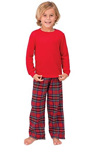 Top 10 boys pajamas red plaid for 2020