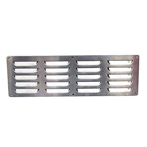 Stainless Steel Vent for Outdoor Grill Islands by Boone Hearth
