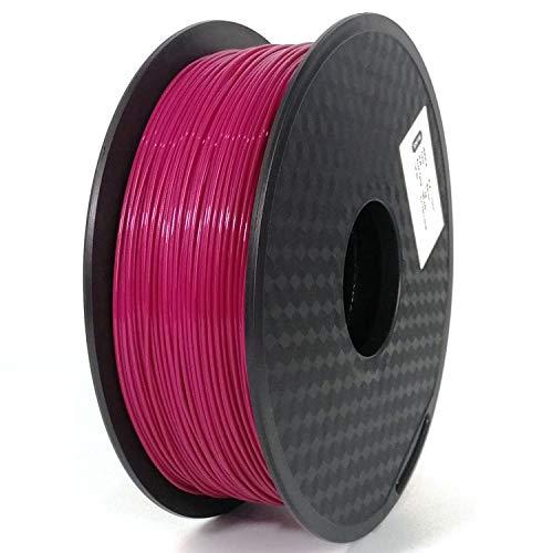 RSTJ-Sjef PLA Silk for FDM 3D Printer PLA Filament 1.75MM 1KG for 3D Printing Pen, Dimensional Accuracy +/- 0.05 Mm, 330 Meters Long,19