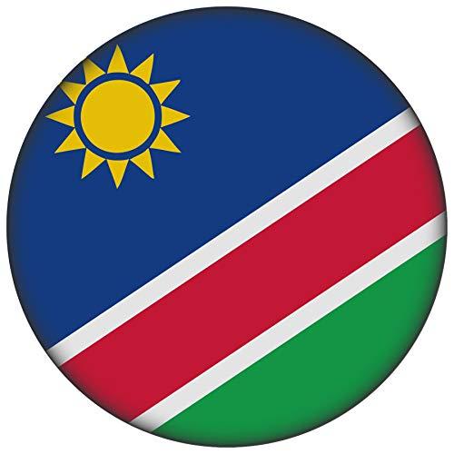 FanShirts4u Button/Badge/Pin - I Love NAMIBIA Fahne Flagge (NAMIBIA/Flagge)