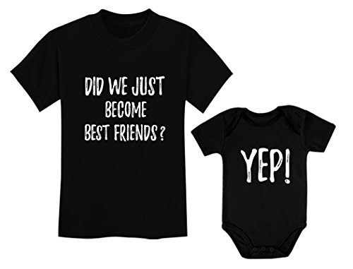 Big Brother/Sister Little Brother/Sister Set Gift for Siblings Baby & Toddler Child Black 2T / Baby Black NB (0-3M)