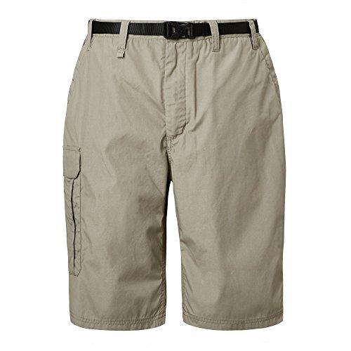 Craghoppers Kiwi - Pantaloncini Lunghi da Uomo, Uomo, Pantaloncini, CMJ228, Rubble, 30'