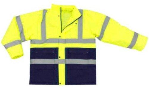 PETEX Kinder Sicherheits-Anorak mit Reflektoren Größe L blau-gelb 033727