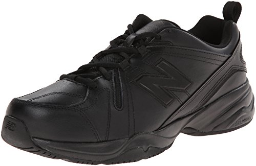 New Balance Men's 608 V4 Casual Comfort Cross Trainer, Black, 9.5 D US