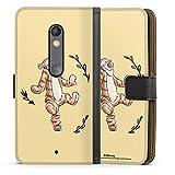 DeinDesign Étui Compatible avec Motorola Moto X Play Étui Folio Étui magnétique Winnie l'ourson...