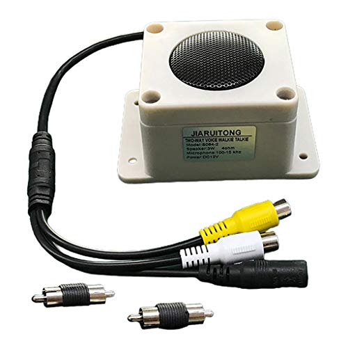 Outdoor Speaker Two Way Micropho...