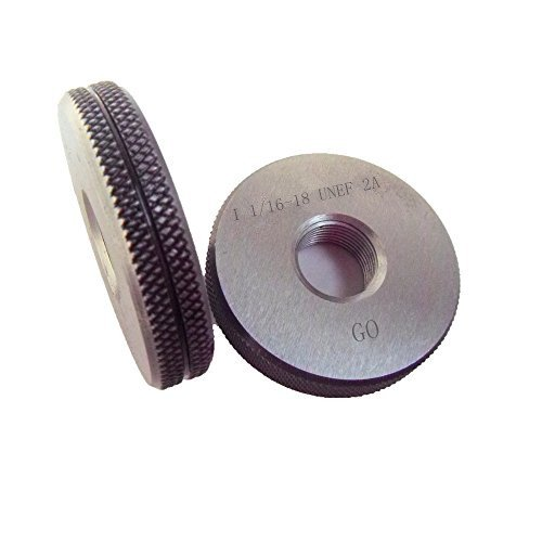 1 16-18 UNEF Thread Ring Gage NOGO 100% Calibrated Ship Weekly update GO 2A Max 85% OFF