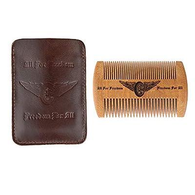 Wooden Beard Comb Kit
