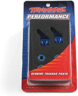 RC Cars Accessories Traxxas Aluminum Steering Block Blue for the Rustler/Stampede/Bandit (2)
