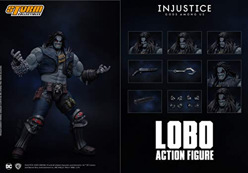 Storm Collectibles 1/12 Lobo Inj...