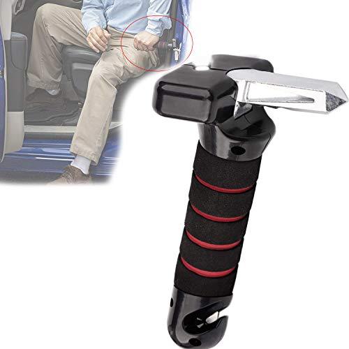 Auto Cane Car Grab Handles, Portable 4 in 1 Car Assist Handle, Vehicle Support Handle with Glass Brëakër and Belt Cutter, Automotive Door Assist Handles Cane