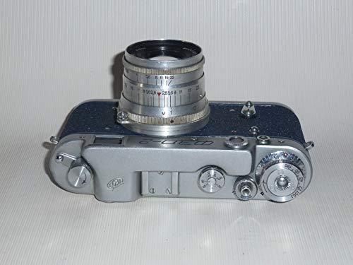 FED-2 Type C USSR Soviet Union Russian 35 mm Leica copy Rangefinder Camera Industar-26M lens