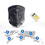 4G GPS Tracker for Vehicles, Strong Magnet GPS Car Tracker, Hidden GPS Trackers, Online Real Time Tracking Devices for SUV, Bus,Trucks, Motorcycle, Fleet, Kids, Elderly and Pet, 4G GPS Locator