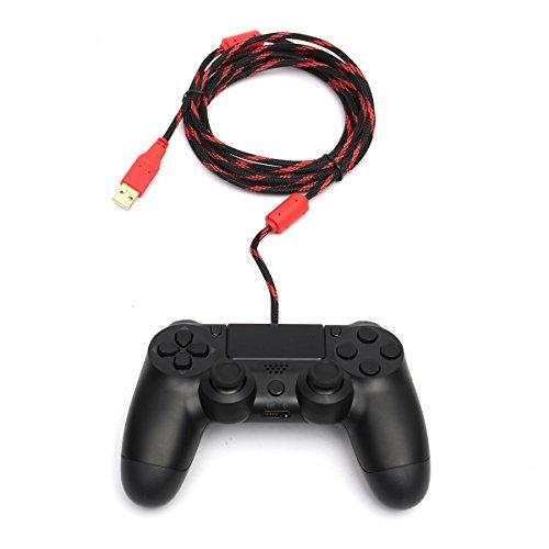 Tutoy USBMicroDeAltaVelocidadAlUSB2,0DatosSincronizaciónCableDecarga3MparaPs4/XboxUnoTeléfono MóvildelRegulador