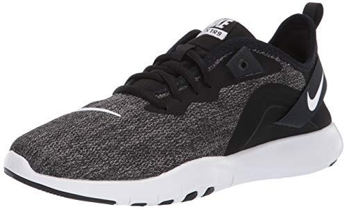 Nike Wmns Flex Trainer 9, Scarpe da Ginnastica Donna, Nero (Black/White/Anthracite 002), 40 EU