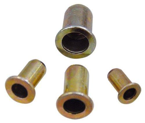 Inserto roscado de acero remachado Lejos medida 4 mm Ø 5,9 mm cf.200Pz