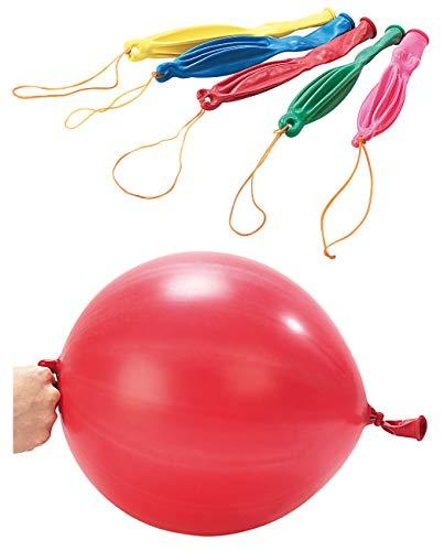 Playtastic Luftballon: XXL-Punch-Ballons im 5er-Pack (Helium Luftballon)