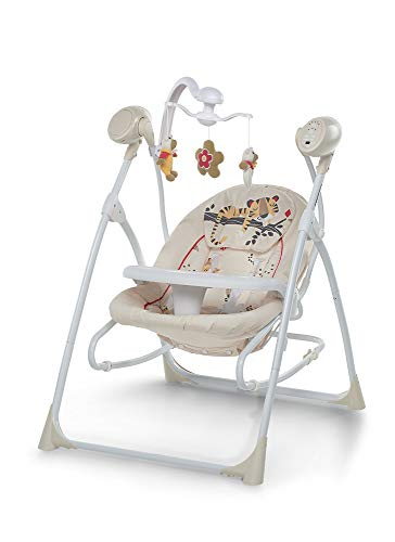 Foppapedretti Carillon Sdraietta Altalena, Portata massima: 9 kg, Baby Tiger