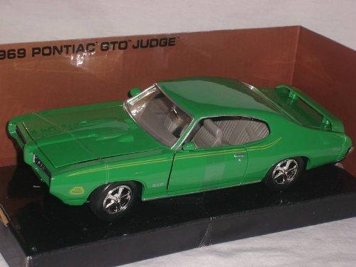 Pontiac Gto Judge 1969 Coupe GrÜn 1/24 Motormax Motor Max Modellauto Modell Auto