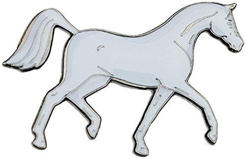 De colour azul y blanco de error NECA con diseño de caballos árabes apúrelos
