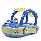 Earlyad Baby Schwimmbad Float Sitz Boot Aufblasbare Schwimmringe Auto Form Pool Spielzeug mit...