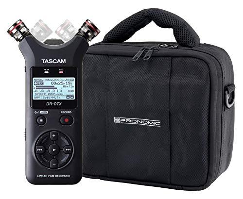 Tascam DR-07X Digitalrecorder Set mit Tasche