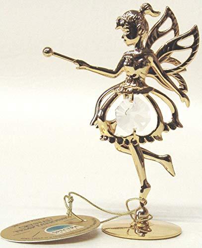 Swarovski Components – Elfe Fairy en oro – cristales Swarovski – chapado en oro de 24...
