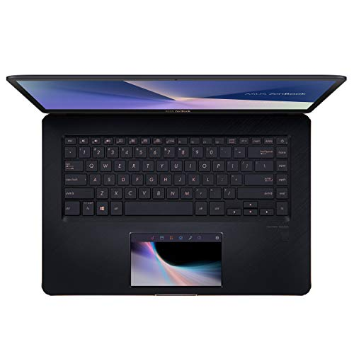 15.6-inch ASUS ZenBook Pro 4K Touch Intel Core i9-8950HK with Screenpad