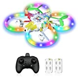 Drone for Kids, Colorful Remote Control Drones...