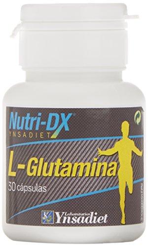 Nutri-Dx - L Glutamina - Complemento Alimenticio - 30 Cápsulas