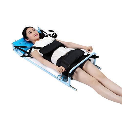 Protección Belt Massager Tratamiento Cuerpo Estirar el Masaje Herramienta Cervical Spine Lumbar Traction Bed Correction Therapy 0-800N Dispositivos de relajación Circunferencia de la cintura fija