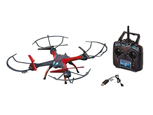 Revell Control RC Quadrocopter mit HD-Kamera, ferngesteuert mit 2,4 GHz Fernsteuerung, leicht zu fliegen durch Höhensensor, Gyro, wechselbarer Akku, Flip-Funktion, Geschwindigkeiten - ARROW QUAD 23897