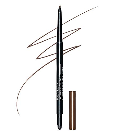Revlon Colorstay Micro hyper Precision Gel Eyeliner, Waterproof, Long wearing, 0.008 oz, Brown
