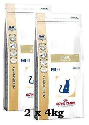 ROYAL CANIN Vet Diet Fibre Response (Katze) 2 x 4 kg = 8 kg