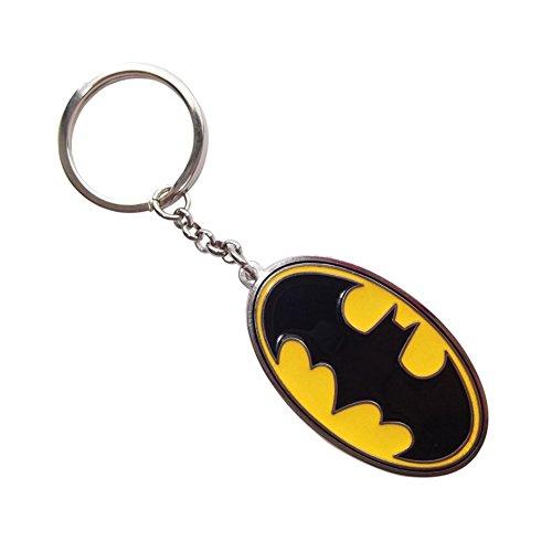 Llavero de metal original de DC Comics Classic 'Batman' con logo de Batman